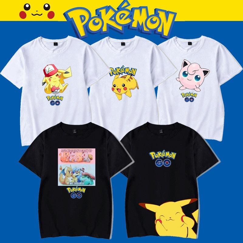 font-b-pokemon-b-font-pikachu-t-shirt-font-b-pokemon-b-font-couple-cartoon-short-sleeve-ins-tide-brand-summer-men-and-women-loose-clothing