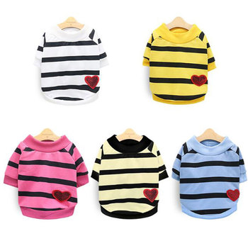 Cute Pet Clothes Soft Puppy Kitten Pet Coats For Small Medium Dogs Cats Warm Winter Dog Cat Jacket Clothing Chihuahua XS-XL