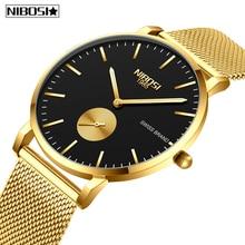 NIBOSI Mens Watches Relogio Masculino Fashion Top Brand Luxu