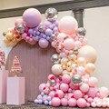 5/12/18/24/36 inch Macaron Candy Pastell Süße Bunten Luftballons Latex Helium Arch Kit Girlande Festival hochzeit Geburtstag Decor