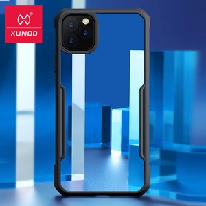 Image 2 - For iPhone 11 Pro Case Xundd Shockproof Case Transparent PC+TPU Bumper Phone Cover for iPhone 11 Pro Max Case With Ring чехол