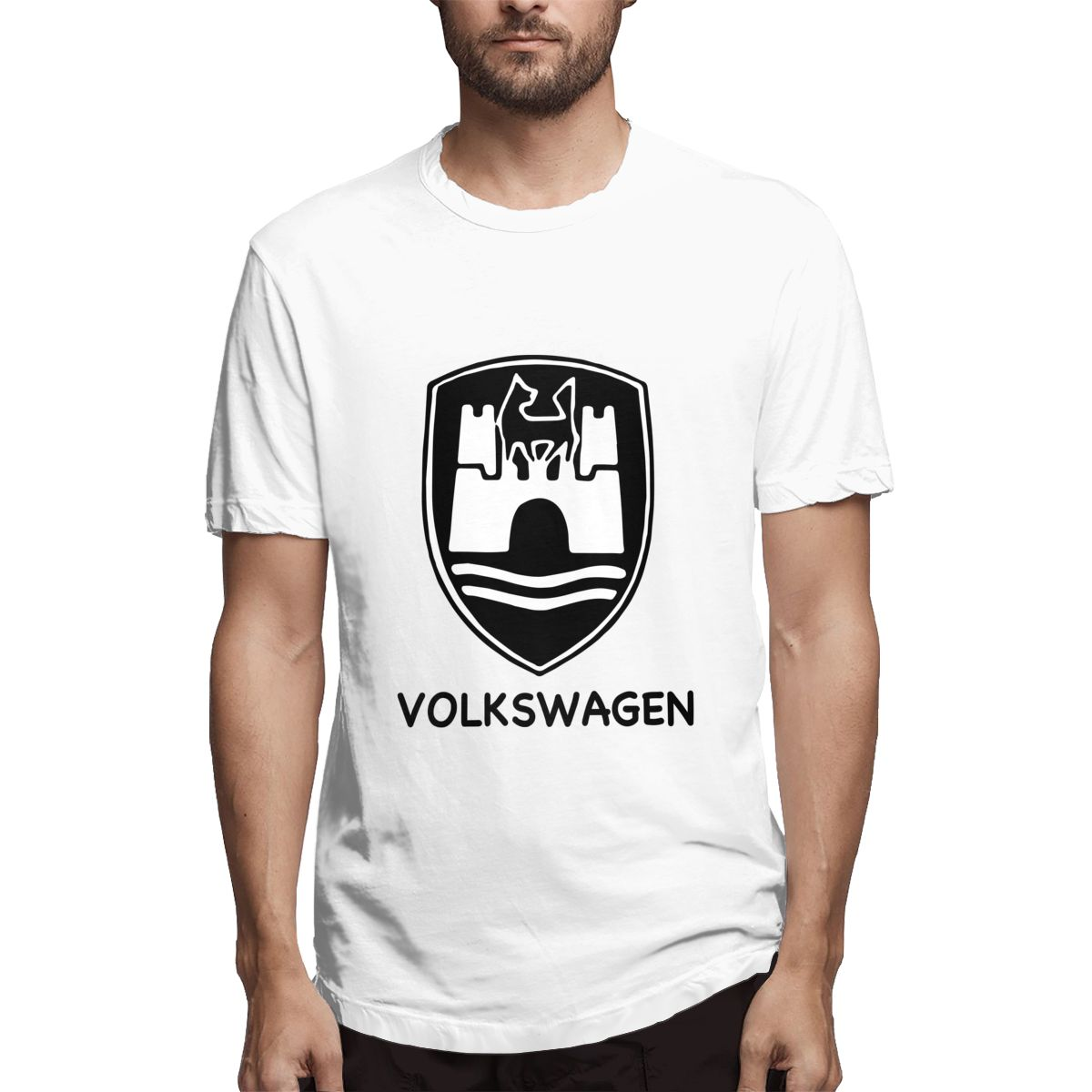 2020 Hot-sale Volkswagen T Shirt Men Male Tshirt Short Sleeve Funny T Shirts Tops Tees