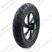Motorcycle accessories 12 1/2X2 1/4 Wheel Tire & Inner Tube & Rim Set  fits electric scooters E-bike folding bicycles