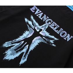 Aolamegs T Shirt mężczyźni EVANGELION nadrukowane litery koszulki O-neck bawełniane topy koszulki styl hip-hopowy Rock Hipster mężczyzna lato Streetwear 5
