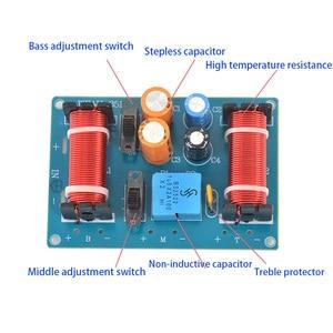 Image 2 - Tenghong 2 Pcs 150W 3 Way Audio Luidspreker Crossover Treble Midrange Bass Boekenplank Auto Luidsprekers Filter Frequentie Divider Crossover