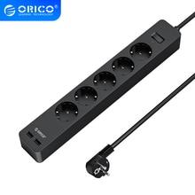 ORICO elektronik soket güç şeridi soket 3AC 5 AC çıkışı 2 USB portu ile akıllı ab tak uzatma soketi ev ticari