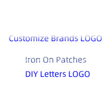 Customize Brands LOGO Fashion Patch Iron On Space letters Patches For Clothes Heat Transfer Vinyl Sticker DIY T-shirt Applique E