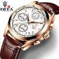 Новые Dita часы мужские Relojes Saati Роскошные Топ Брендовые мужские часы кварцевые часы с ремешком Спортивные часы Дата Relogio Masculino