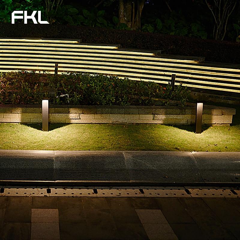 FKL Garden Light LED Outdoor Waterproof Street Light Simple Modern Square Park Lawn Villa Outdoor Grass Light - 4