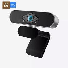 Новая камера Xiaovv, видеорегистратор, встроенный микрофон с шумоподавлением, 1080P, веб-трансляция, прямая трансляция, USB-камера, цифровая веб-ка...