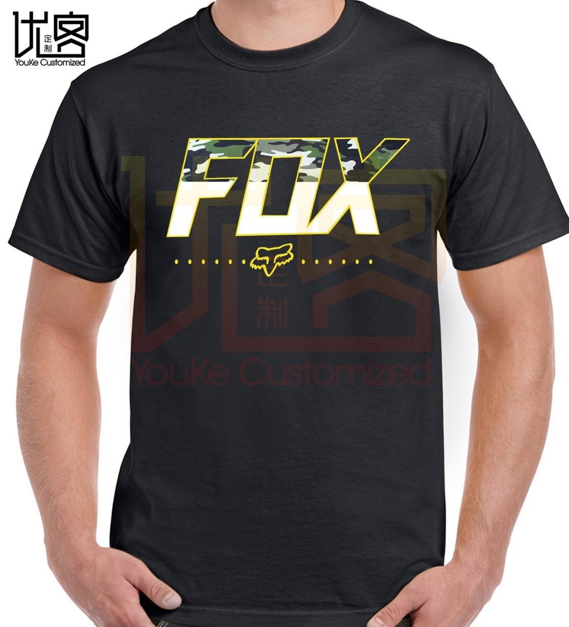 Fox Mtb Ranger Mens T-shirt - Black All Sizes Mens 2019 Fashion Brand T Shirt O-Neck 100%cotton Custom Printed T-Shirt Tops Tee