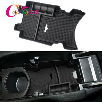 Color My Life Car Armrest Storage Box for Honda Civic 10th Gen 2016 - 2019 Center Secondary Tray Organizer Box Accessorie image
