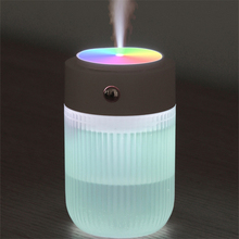 Colorful Lamp Humidifier 250ml USB Air Aromatherapy Diffuser Aroma Essential Oil Diffuser Mini Humidificador with LED Light Home
