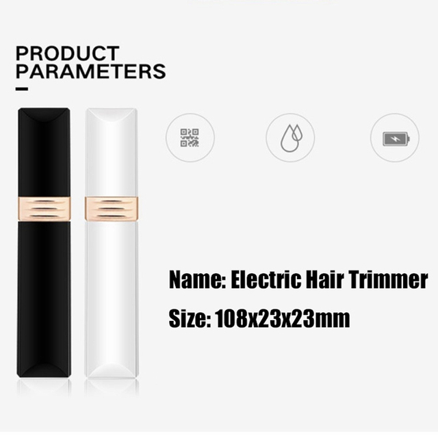 New Brows Eyebrow Trimmer Electric Professional Lipstick Epilator Eyebrow Hair Removal Painless Shaver Portable Face Care Hair 1