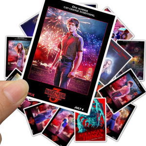 Image 3 - 50Pcs/Lot Newly TV Series Stranger Things 3 Stickers For Laptop Motorcycle Skateboard Luggage Decal Toy DIY Sticker
