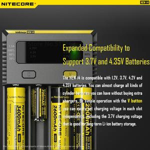 Image 3 - 100% Original Nitecore New I4 Digicharger Battery Charger Nitecore Charger  for 26650 18650 18350 16340 14500 10440