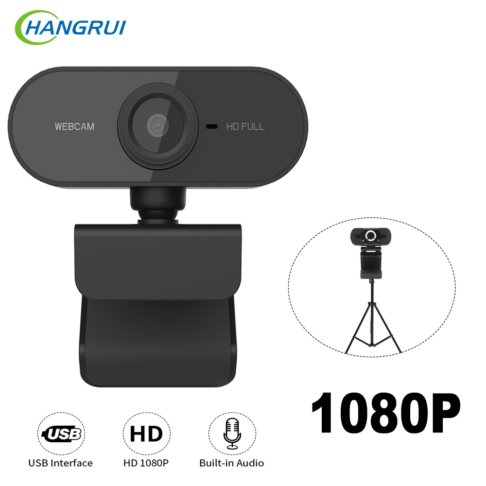 1080P Webcam HD Web Camera Built-in HD Microphone 1600x1200 USB Plug Web Cam Widescreen Video For Computer PC Laptop веб камер