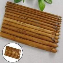 Carbonizado jardim de bambu crochê 12 número camisola agulha crochê nova camisola criativa crochê tricô ferramenta supplies45 #