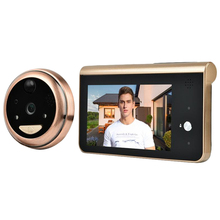 4.3 Inch Monitor Video Peephole Wifi Doorbell Camera PIR Motion Detection Wirele
