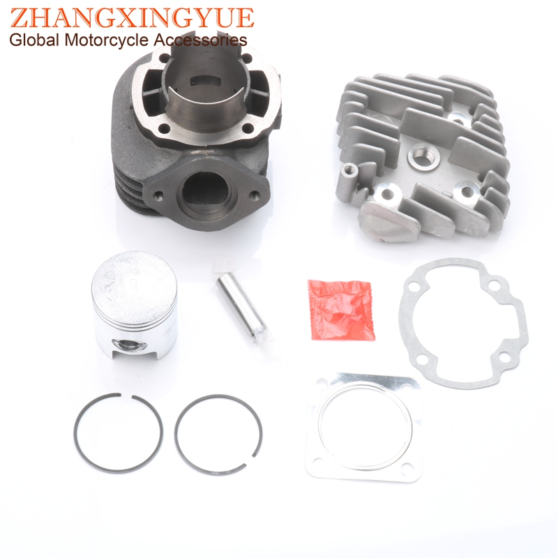 70cc Big Bore Cylinder Kit & Piston Kit & Cylinder Gasket for HONDA DIO 50 AF34 AF35 ZX50 47mm / 12mm 2T