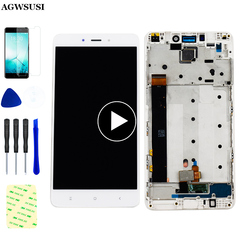 for Xiaomi <font><b>Redmi</b></font> <font><b>Note</b></font> <font><b>4</b></font> LCD Touch Digitizer <font><b>Redmi</b></font> <font><b>Note</b></font> <font><b>4</b></font> LCD Display <font><b>Redmi</b></font> <font><b>note</b></font> <font><b>4</b></font> MTK MediaTek Helio X20 LCD Assembly <font><b>Frame</b></font> image