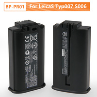 7.3V Genuine Replacement Battery BP PR01 For Leica LeicaS Typ007 S006 S007 16039 17Wh Original Rechargable Battery 2.30Ah
