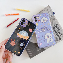 Cute Cartoon Dog Soft Case For iphone 11