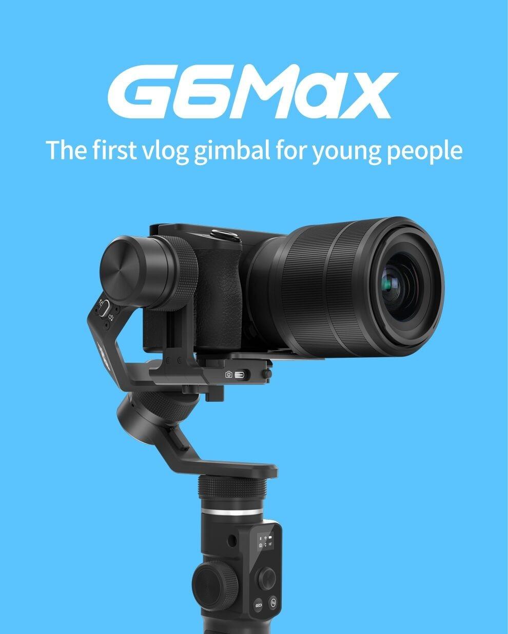 Feiyu g6 max 3 eixos handheld cardan