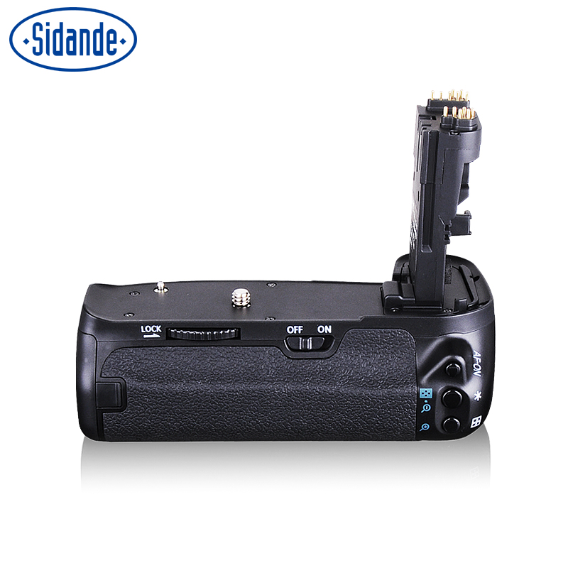Sidande C70D Vertical <font><b>Battery</b></font> <font><b>Grips</b></font> Holder used for Canon 70D <font><b>80D</b></font> Camera <font><b>Battery</b></font> Holder <font><b>Battery</b></font> Exclude image