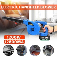 220V Cordless Electric Air Blower Handheld Blowing Lithium Battery Rechargeable Computer Dust Soot High Power Wireless Blower