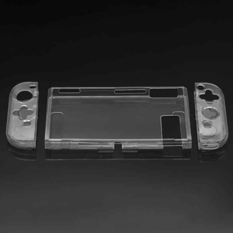 Beschermhoes Cover Frame Soft Tpu Shell Voor Nintend Switch Console Handgreep Transparante Anti-Shock Cover Caps