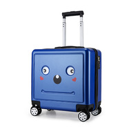 16 inch lovely girl students trolley case child Cartoon Travel luggage kids rolling suitcase fashion Wheels boy Boarding box