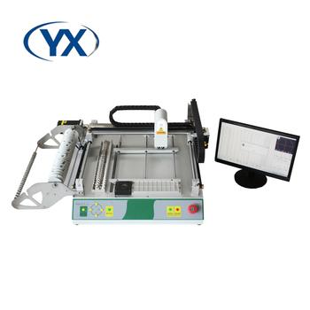 Montaż PCB produkuje maszyna na linię TVM802A-S z szyną prowadzącą + wbudowany komputerowy System solarny tanie i dobre opinie NoEnName_Null CN (pochodzenie) 20mm*20mm-340mm*340mm www zjyingxing con 2 HD CCD Camera option
