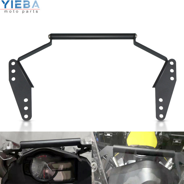 GPS de la motocicleta montaje Navegación de montaje Holder soporte adaptador para Suzuki V-Strom DL 650 / XT DL650 DL650XT 2017 2018 2019 a 2020