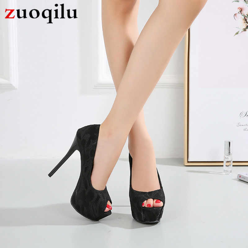 Kadın pompaları peep toe platformu yüksek topuklu kadın ayakkabı düğün gelin ayakkabıları 12cm topuklu parti ayakkabıları kadınlar için zapatos de novia