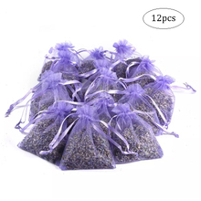 12 Pcs Lavender Scented Sachets Bag For Closets Drawers Durable Multi-purpose Filled With Naturally Dried Lavender Flower Buds