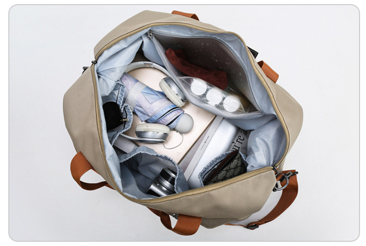 de viagem leve ombro saco de esporte 3 cores