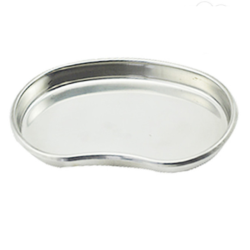 S Size Tattoo Sterilization Tools Tray Silver Stainless Steel Surgical Disinfection Bending Plate For Tattoo Makeup Eyebrow Lip