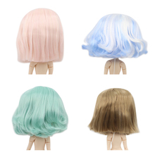 Ледяной завод blyth кукла парик rbl головы и купола короткие волосы