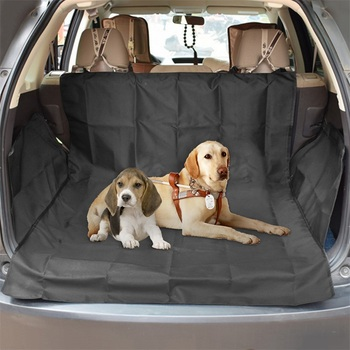 Dog Car Seat Cover  Waterproof Pet Dog Travel Mat Mesh Dog Carrier Car Hammock Cushion Protector With Zipper and Pocket 10