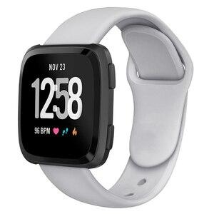 Image 2 - Band Fitbit Versa kayış ters kemer tokası yedek bilezik Fitbit Versa için Lite kayış silikon Smartwatch bilek
