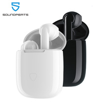 Soundpeats trueair QCC3020 bluetooth 5.0 twsイヤホンハイファイステレオaptxワイヤレスイヤフォンcvcノイズキャンセル30時間プレイ時間