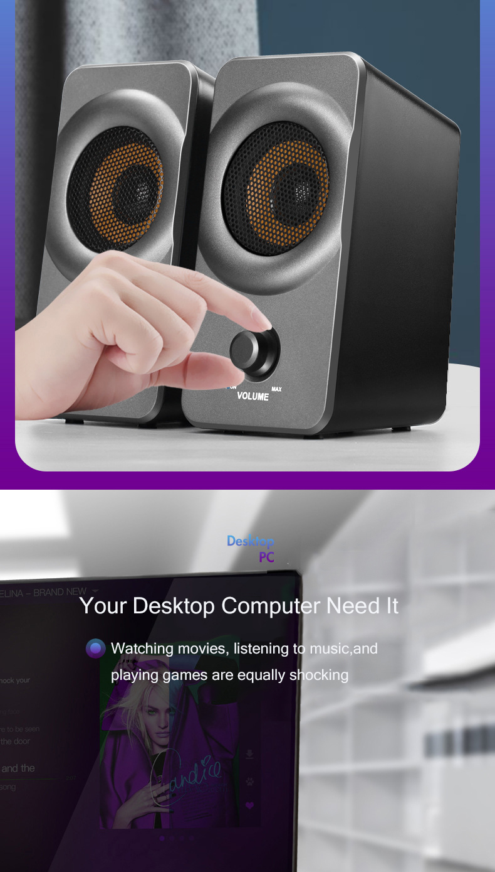 alto-falante de reforço baixo alto-falante do computador