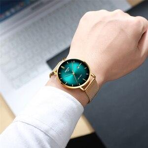 Image 4 - Relogio Masculino NIBOSI גברים שעונים פשוט אופנה למעלה מותג יוקרה Creative זכר שעון עמיד למים לא מוגדר מזדמן שעון גברים