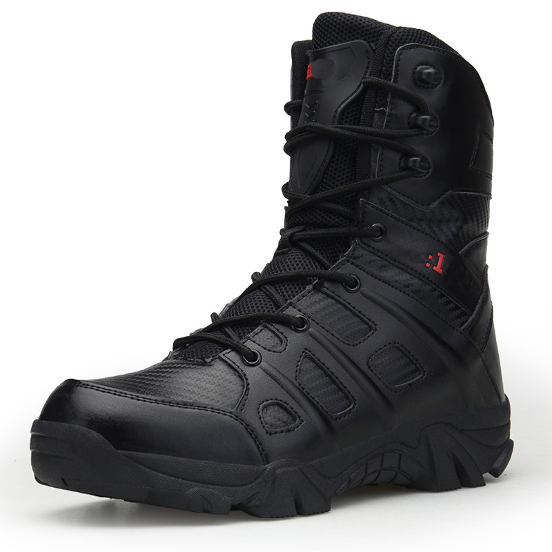 Manufacturers Direct Selling Autumn New Style Fashion Hight-top Outdoor Combat Boots Cross Border Wearable Tactical Boots Men Mo