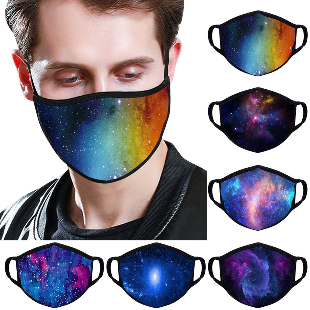 Unisex Reusable Face Maske Washable Protective PM2.5 Filter Mouth Maske Fashion Dust Maske Windproof Mouth-muffle Respirator