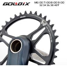 Goldix кривошипная система подходит для shimanodeore xt m7100