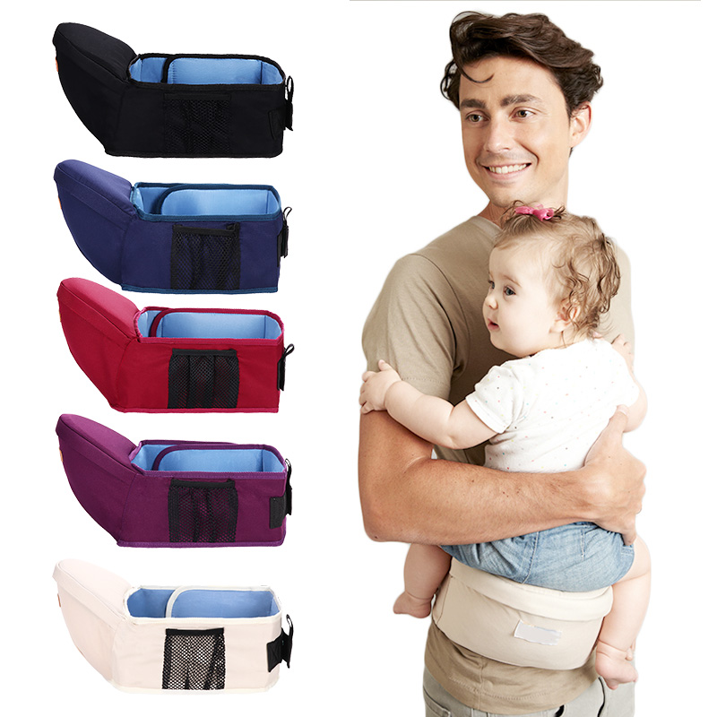 Ergonomic Baby Carrier Infant Kid Baby Hipseat Sling Front Facing Baby Wrap Carrier For Baby Travel 0-18 Months