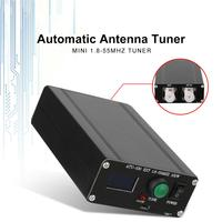ATU 100 1.8 55Mhz By N7DDC 7x7 Metal Accessories Assembled Mini Automatic Antenna Tuner Shortwave Type C With Case Tool