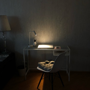 Image 5 - Zerouno office table light rocker switch book reading lamp led table lamps for bedroom study 2700K stand desk lamp room bedside